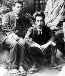 Kikuchi Kan (1888-1948) (izq) y Akutagawa Ryūnosuke (1892-1927)