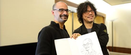 Junot Díaz y Urasawa Naoki